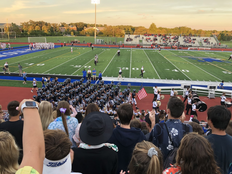 Lincoln-Way+East+Football%3A+Homecoming+Game