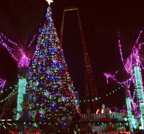 Six Flags During the Holidays