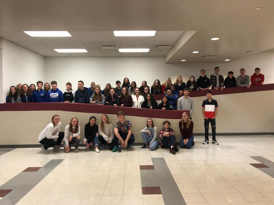 LWE newspaper travels to Lockport